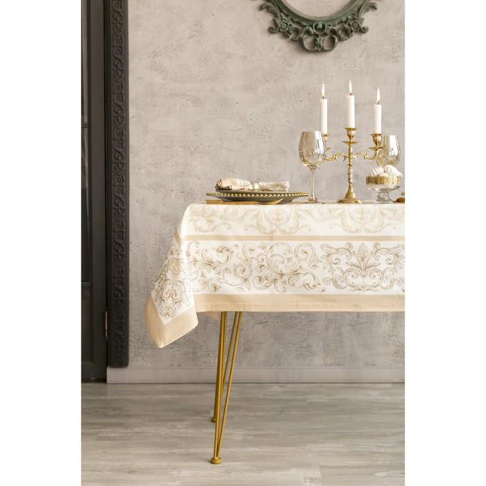 Набор столовый «Этель» «Классика», скатерть 110 × 150 см, салфетки 40 × 40 см, 4 шт., хлопок 100 %