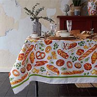 "Скатерть ""Доляна"" Bread 110х144 см, 100% хлопок, 164 г/м2"