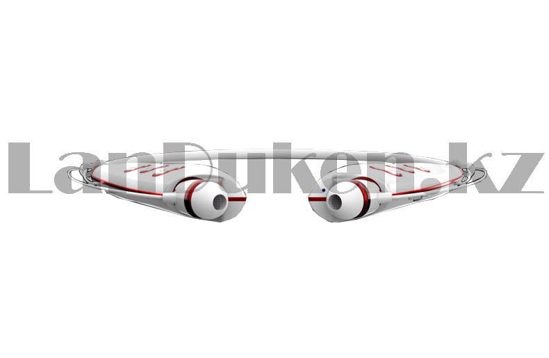 Беспроводные стерео Bluetooth наушники LG-S740T белые - фото 6