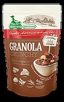 Гранола (Мюсли) Bionova® без сахара Шоколадная с клубникой и бананом 400 гр