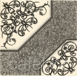 Керамогранит 42х42 Полонез | Polonez с орнаментом