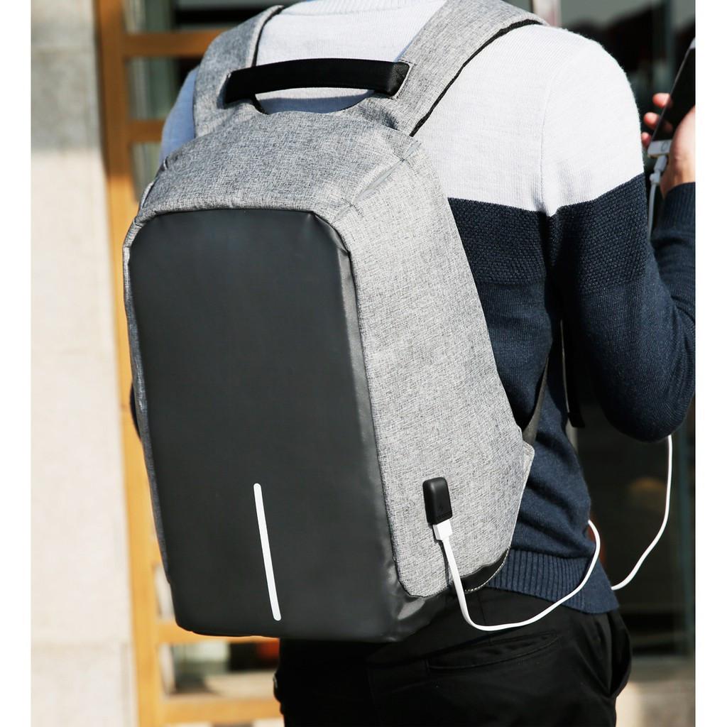 Рюкзак Антивор с USB зарядкой. С Днем Автомобилиста!