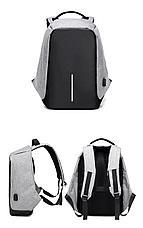 Рюкзак Антивор с USB зарядкой. С Днем Автомобилиста!, фото 2