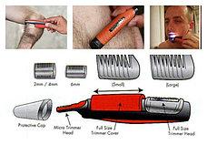 Триммер для удаления волос MicroTouch Switchblade. С Днем Автомобилиста!, фото 3