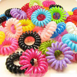 Цветные резиночки для волос