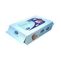 Softex Влажные салфетки для детей 80 штук Голубые