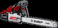 ЗУБР ПБЦ-М62-50 бензопила, 62 см3, шина 50 см, фото 1