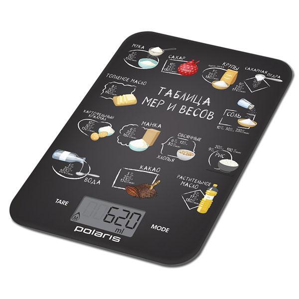 Весы кухонные POLARIS PKS 1053DG Chalk