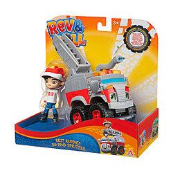 Rev&Roll EU881730 Фигурка+машинка (пластик) - Бо и Сприцер
