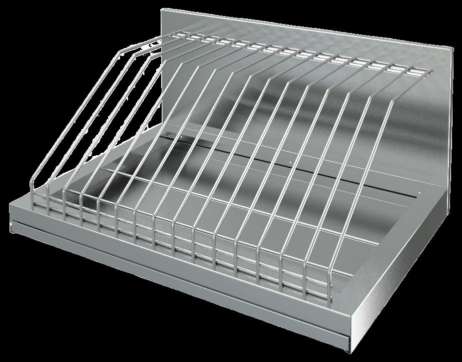 Полка кухонная для досок / для крышек