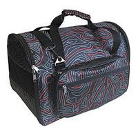 CLP Сумка-переноска с карманом для животных №1 - 36х23х26 см