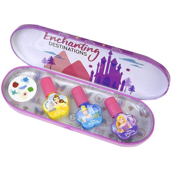 Markwins 1599020E Princess Игровой набор детской декоративной косметики для ногтей в пенале мал.