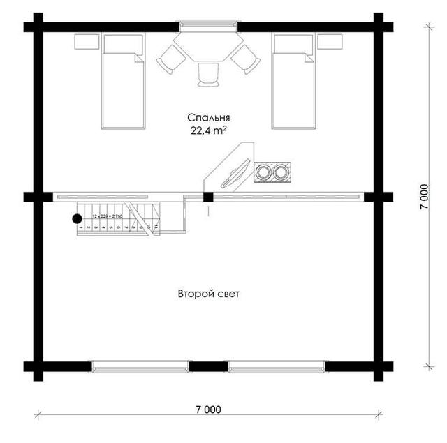 план деревянного дома из бруса, проект и строительство деревянного жилого дома.