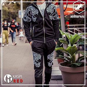 Люксовый спортивный костюм Philipp Plein Tigers Black, фото 2