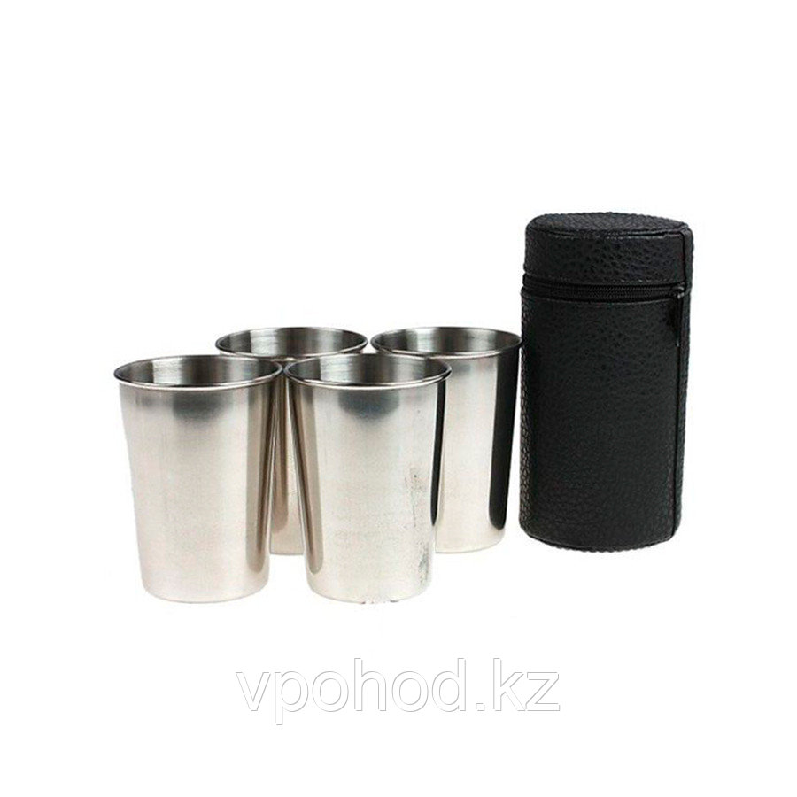 Набор стаканов в чехле по 130 гр