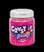 Слайм Crystal Slime Розовый 250 гр.