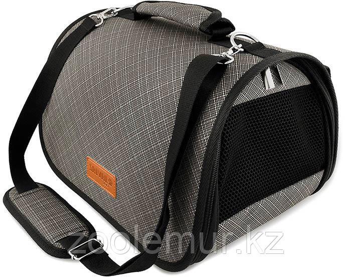 Сумка-перeноска Saival с карманом, Бамбук серый S 36*23*24см