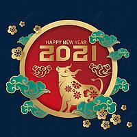 Новый год 2021 ГОД Быка