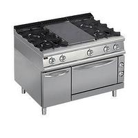 Плита со сплошной поверхностью газовая 700 серии Apach Chef Line LRSTG127R4FG