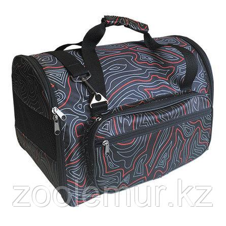 CLP Сумка-переноска с карманом для животных №2 - 40х24х30 см