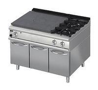 Плита со сплошной поверхностью газовая 900 серии Apach Chef Line LRSTG129R2DXCS