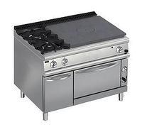 Плита со сплошной поверхностью газовая 900 серии Apach Chef Line LRSTG129R2FG