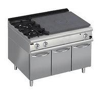 Плита со сплошной поверхностью газовая 900 серии Apach Chef Line LRSTG129R2SXCS