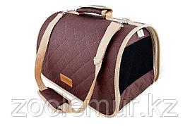 Сумка-перeноска Saival, стёжка, цвет коричневый S 36*23*24см