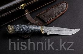 Нож туристический Клык 2 дамасская сталь