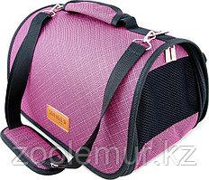 Сумка-перeноска Saival с карманом, Бамбук розовый S 36*23*24см