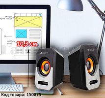 Компьютерные колонки акустические стерео Kisonli A606 черно-серый