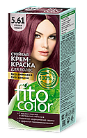 ФК 4842 Стойкая крем-краска FitoColor 5.61 Спелая вишня
