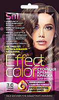 ФК 4912 Стойкая крем-краска Effect Color 3.0 Темный Каштан 50 мл