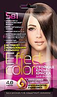 ФК 4913 Стойкая крем-краска Effect Color 4.0 Каштан 50 мл