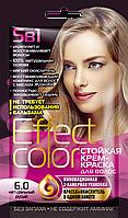 ФК 4917 Стойкая крем-краска Effect Color 6.0 Натуральный Русый 50 мл