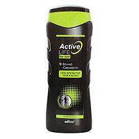 BV Active Life Гель для мытья тела и волос для него Волна свежести 250 мл