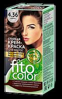 ФК 4825 Стойкая крем-краска FitoColor 4.36 Мокко