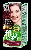 ФК 4827 Стойкая крем-краска FitoColor 5.6 Красное дерево