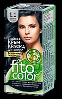 ФК 4839 Стойкая крем-краска FitoColor 1.1 Иссиня черный