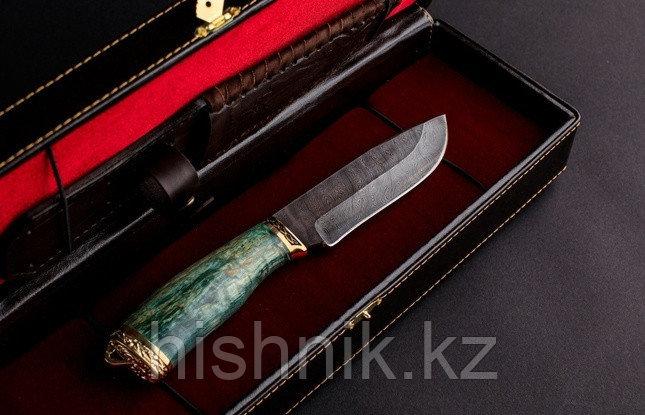 Нож туристический Беркут дамасская сталь