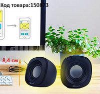 Компьютерные колонки акустические стерео Kisonli V350 черный