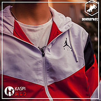 Спортивный костюм Air Jordan Red\White, фото 2