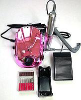 Аппарат маникюрный Nail Polisher DM 212, 35 тыс. оборотов, хром