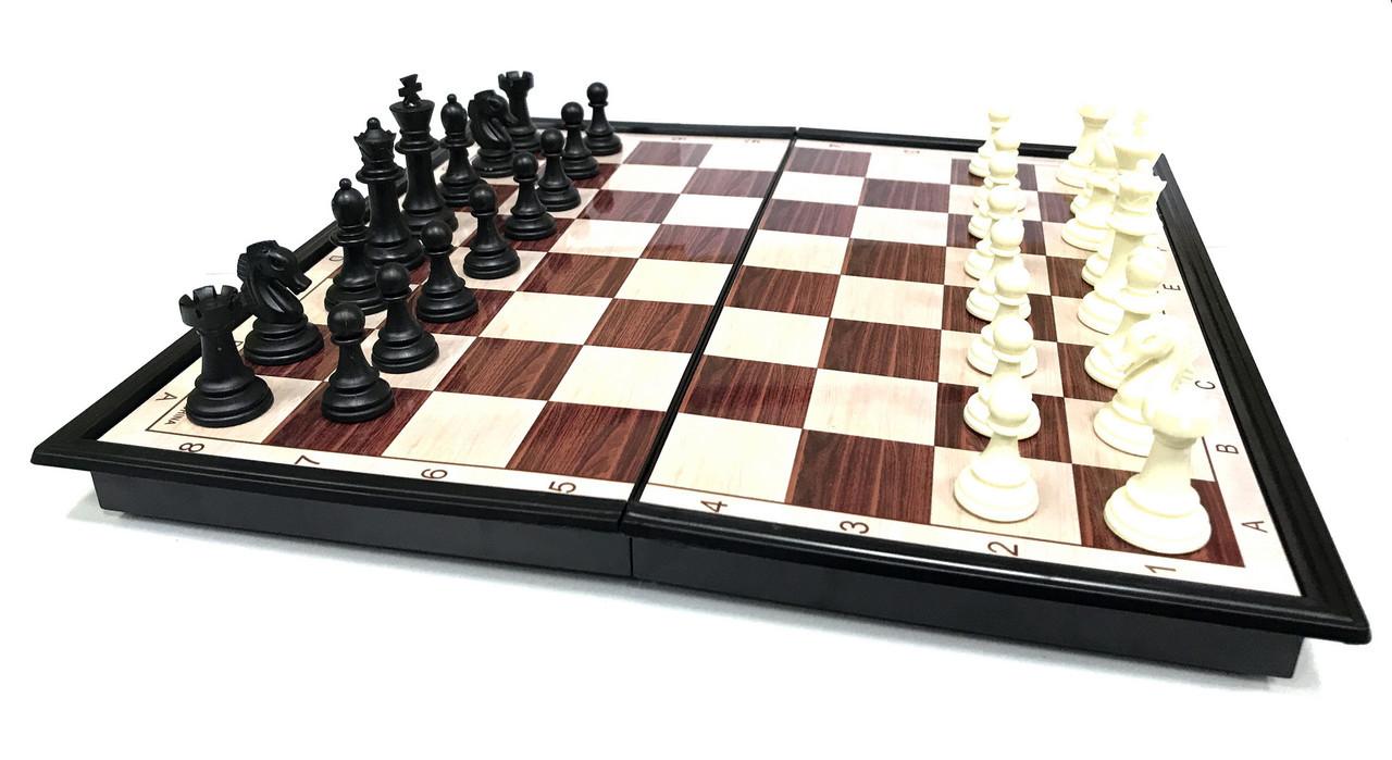 Шахмат (39см х 39см) магнитный пластик