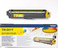Картридж Brother TN-241Y, для Brother  HL-3140/3170, DCP-9020 Желтый 1,4к