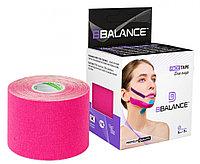 Тейп для лица BB Face Tape 5 см × 5 м хлопок Розовый