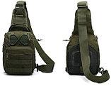 Рюкзак-сумка тактический однолямочный SILVER KNIGHT 098, фото 10