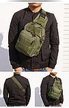 Рюкзак-сумка тактический однолямочный SILVER KNIGHT 098, фото 9