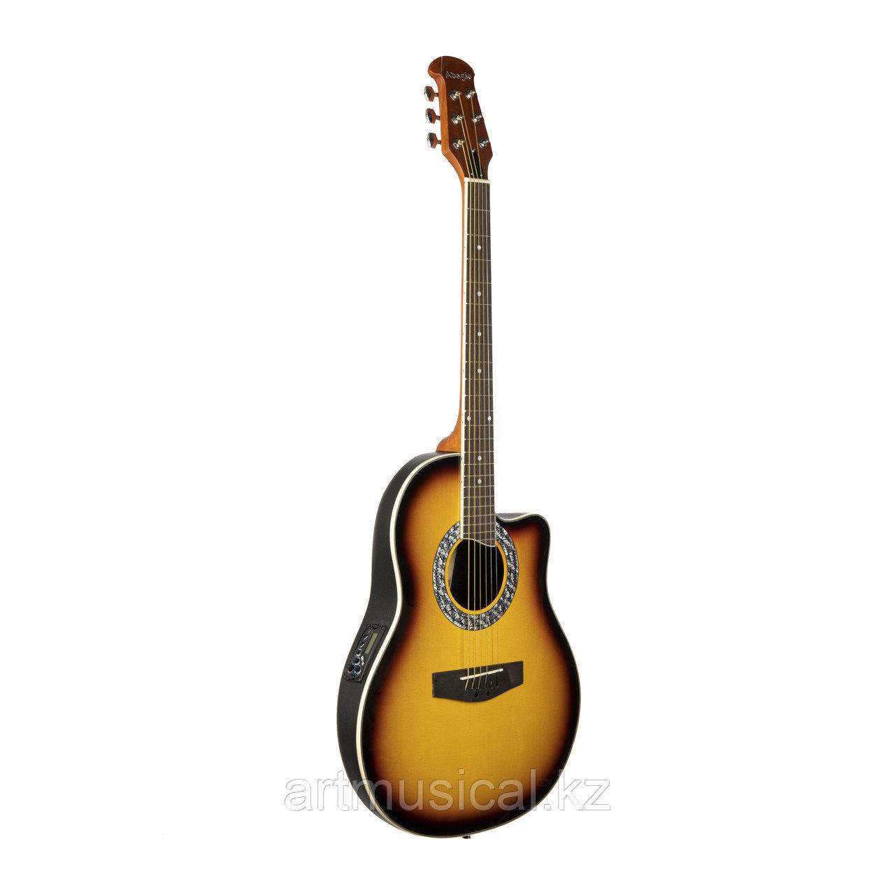 Электро-акустическая гитара ADAGIO MDR-4119 CE SB