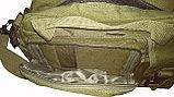 Сумка-портфель тактический для ноутбука SILVER KNIGHT, фото 6